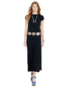 Cotton Jersey Maxi Dress | Lord and Taylor