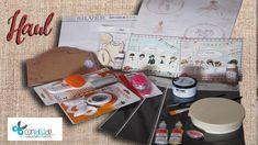 Haul de material para manualidades, decoupage y scrapbooking-Febrero Con...