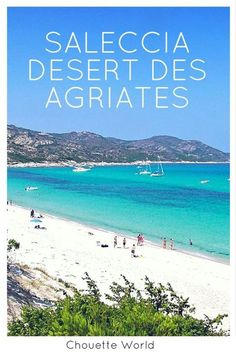 Plage de Saleccia, désert des Agriates, Corse Cheap Travel Deals, Budget Travel, Corsica, Destinations D'europe, Cap Corse, Voyage Europe, Somewhere Over, The Next Step, Blog Voyage