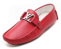 Mocasines Louis Vuitton Rojos