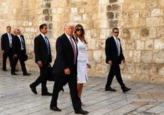 Bob's Blog: The Trumps are in Israel