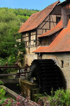 Old Watermill in Germany