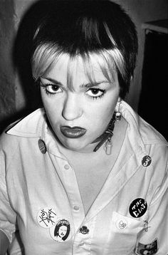 Girls Will Be Girls: The Women at the Birth of Punk - Punk London 1977-Wmag Big Fashion, Punk Fashion, Gothic Fashion, Vintage Fashion, 70s Punk, Punk Women, Punk Girls, Riot Grrrl, New Romantics