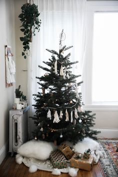 bohemian christmas tree