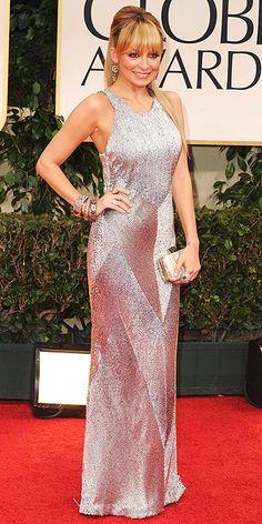 2012 Golden Globes: Nicole Richie