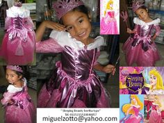 Sleeping bertha type  $85 usd sizes 1 to 6 accesories not included   Sleeping Beauty Aurora bella durmiente princess princesa girl costume dress outfit  gown cosplay vestido disfraz blancanieves   I can do adult dresses ask for prices and availability at miguelzotto@yahoo.com