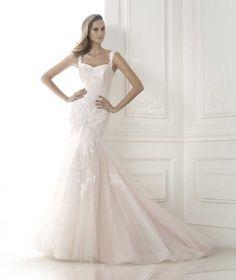 Wishesbridal Trumpet Mermaid Wedding Dress