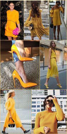 Tendência Verão 2018: Amarelo açafrão (e similares)!