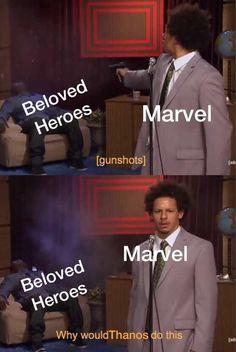Infinity war in a nutshell