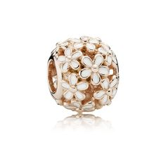 PANDORA Darling Daisy Meadow Openwork Charm in Rose Gold