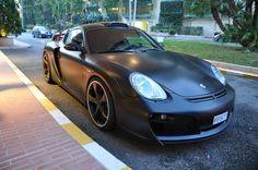 Matt Black Techart Wide body + the roof intake? My Dream Car, Dream Cars, Cayman Gt4, Wide Body, Triple Black, Black Flats, Hot Cars, Custom Cars, Cars And Motorcycles
