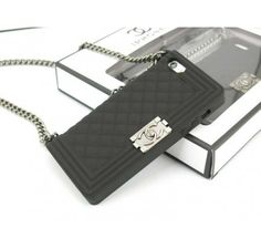 Chanel Boy iPhone 5 iPhone 5S Case Black - Free Shipping Luxury Cases
