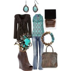 Out for Supper with Cousins, created by wishesndreams on Polyvore