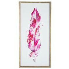 7d579ca503cb Pink Feather Wood Wall Decor-hobbylobby Pink Feathers