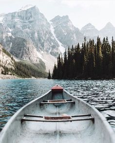 I love lakes and rivers! The mountains in the background and the trees are all absolutely gorgeous, so I would love to visit here x