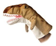 T-rex Dinosaur Hand Puppet with Soft Teeth