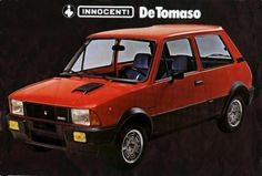 Innocenti De Tomaso - 3cyl turbo