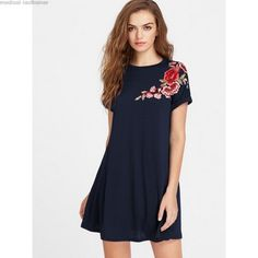3f44f5b64c6f Dresses with flower application  application  dresses  flower Παπούτσια