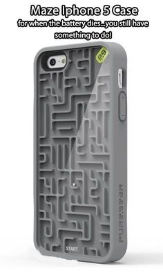 PureGear Gamer Case for Apple iPhone 5 - Retail Packaging - Gray. Compatible with Apple iPhone Allows access to all buttons and ports. Cool Iphone Cases, Cool Cases, Cute Phone Cases, 5s Cases, Coque Iphone 4, Accessoires Iphone, 3d Prints, Iphone Accessories, Phone Covers