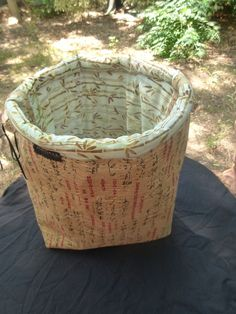 A Special fabric basket I created for my Idolila :-)