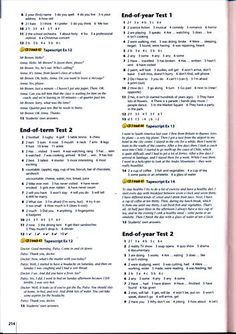 Testy i Odpowiedzi English Explorer 2 (6)