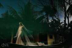 A Mayan Ceremony is a local tradition that is both intriguing but also welcoming to outsiders. This type of wedding ceremony will be different from most wedding traditions for people visiting this area, but every element of it is crafted to bring people together, no matter what religious or cultural heritage you have. Helen added …  #JulietCapVeil #cabanaslaluna #tulum