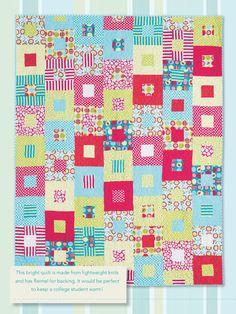 Lightning Strikes Digital Quilt Pattern from ShopFonsandPorter.com ... : easy quilts for kids - Adamdwight.com