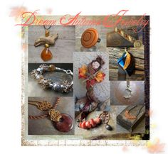 Dream Autumn Jewelry by Danna on #Polyvore #jewelryonetsy #etsyspecialT #integritytT http://polyv.re/2fK419F