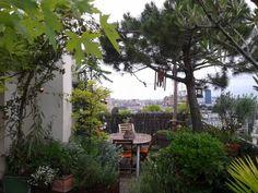 Location vacances appartement XIIIe Gobelins: Terrasse / Balcon