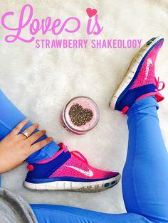 I made strawberry sh