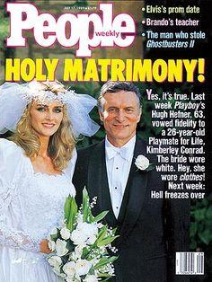 photo   Weddings, Playboy, Celebrity Wedding Albums, Hugh Hefner Cover, Kimberley Conrad Cover, Too Crazy to Believe, Hugh Hefner, Kimberley Conrad