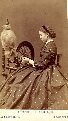 Princess Louise & Spinning Wheel by Nemo65, via Flickr