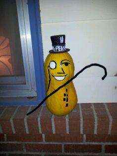 My Mr.Peanut pumpkin :)