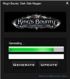 We would like to present to you the Kings Bounty Dark Side Keygen. Kings Bounty Dark Side Keygen is the best application which generates completely unique serial number to the game.  http://wazzupgames.com/kings-bounty-dark-side-keygen-full-game-generator/