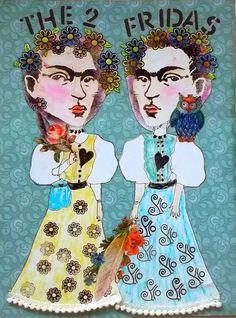 Bastelmania: The two Fridas....