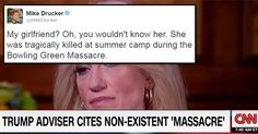 "The Internet Is Roasting Kellyanne Conway HARD Over the ""Bowling Green Massacre"""