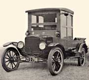 1920 Ford Model T with a Hercules Manufacturing Co. 'Business Body' and pickup bed on a ½ ton passenger chassis.