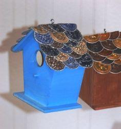 Vogelhäuschen mit Nespresso-Dach