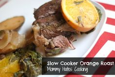 Slow Cooker Orange Pot Roast #SlowCookerSummerDinners