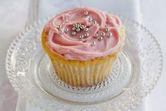 White chocolate mud cupcake