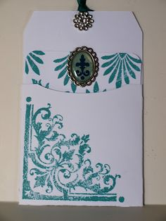 Stampin' Maui: August Stamp of the Month Blog Hop - unique card
