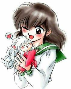 Aome y inuyasha
