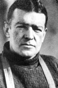 Sir Ernest Shackleton this is my GREAT GREAT Grandfather!
