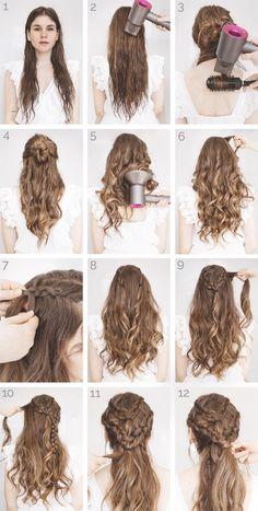 Hairstyle Tutorial 2017 Hair Hair Styles Khaleesi Hair Curly - game of thrones hairstyles Ponytail Hairstyles, Braided Hairstyles, 2017 Hairstyle, Hairstyles Haircuts, Khaleesi Hairstyle, Easy Prom Hairstyles, Reign Hairstyles, Interview Hairstyles, Curling Iron Hairstyles