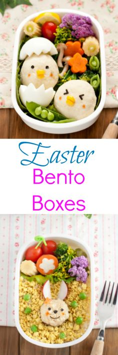 Adorable Easter Bento Box Ideas with Tofu - Must Have Mom