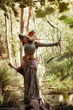 Archer Elf dress