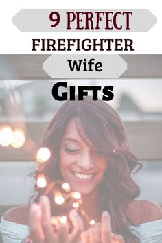 9 Perfect Firefighter Wife Gifts for this holiday season! Hot Firefighters, Firefighter Gifts, Fire Dept, Gifts For Wife, Gift Guide, Popular, Business, Holiday, Fire Department