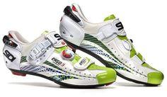 New Road Bike Shoes for 2012: Sidi Ergo 3, Liquigas Special Edition. $500.