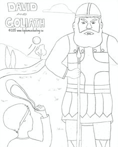 david and goliath free coloring sheet and activity guide from the jesus storybook bible