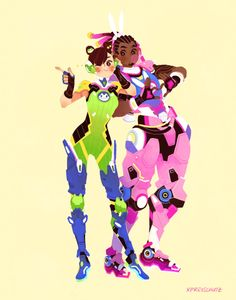 These would be really nice skins for Lucio and D.va